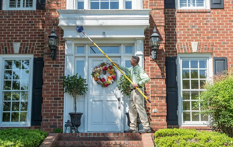 all american tech providing exterior home pest control outside of arrington tennessee home