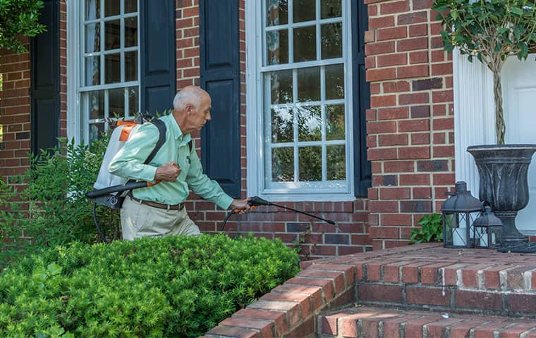 all american tech providing exterior green pest control services in brentwood tennessee