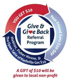 give and give back badge