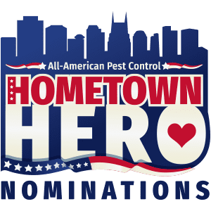 all american hometown hero logo