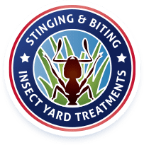 stinging and biting insect yard treatments logo