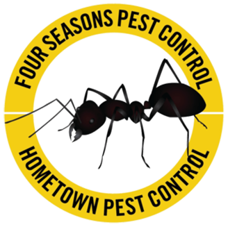 four seasons hometown pest control logo
