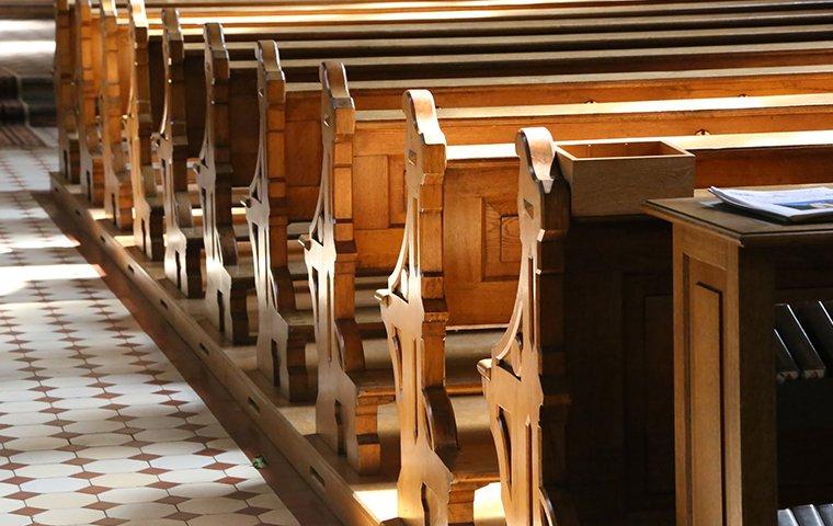 interior of a church
