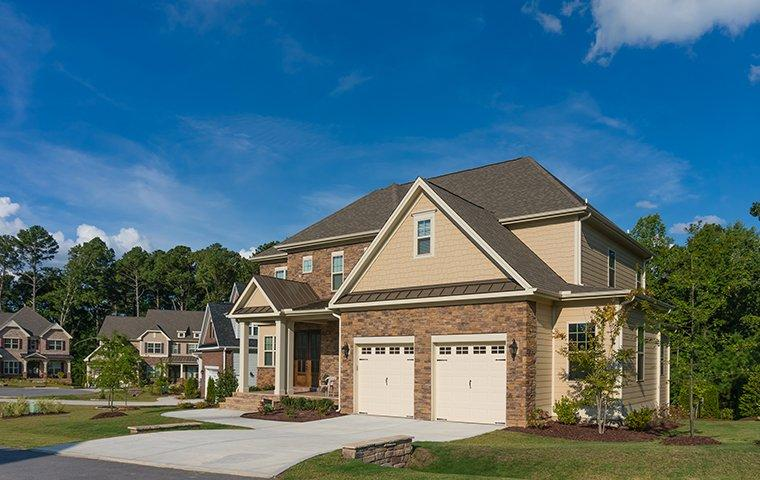 the exterior of a home in charlotte north carolina