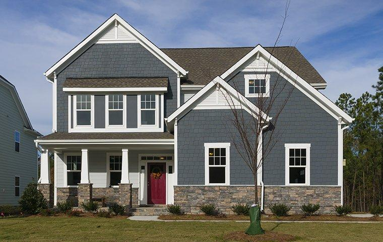 the exterior of a home in raleigh north carolina