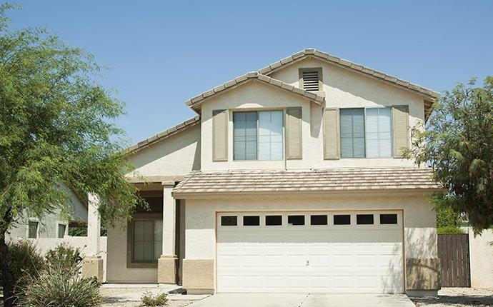 an apache junction home protected by home pest control