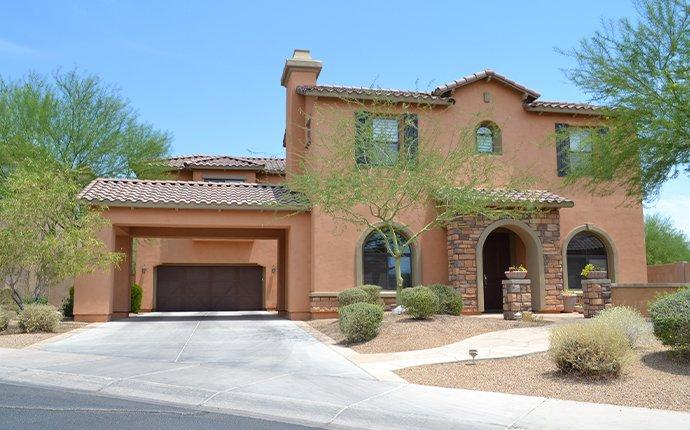 street view of a two story home in catalina foothills
