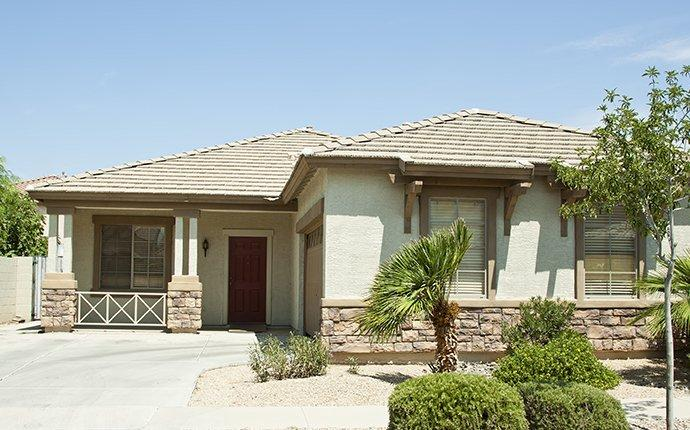 street view of a home in queen creek