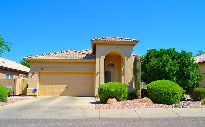 street view of a home in youngtown arizona