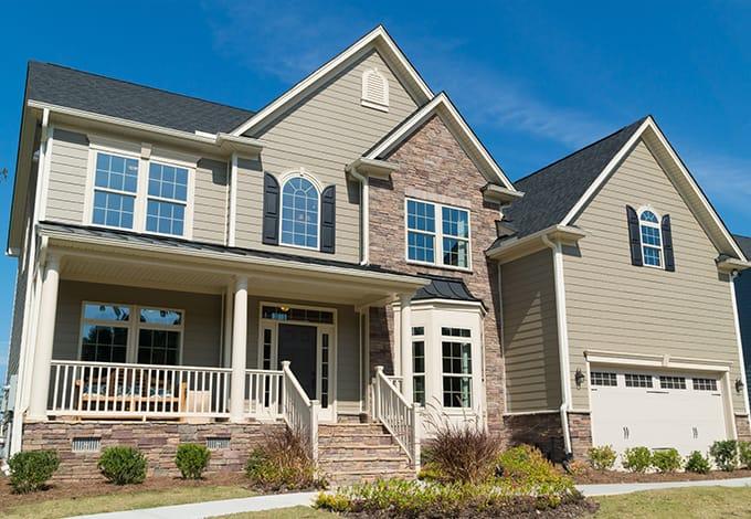 a lewisboro new york suburban home exterior