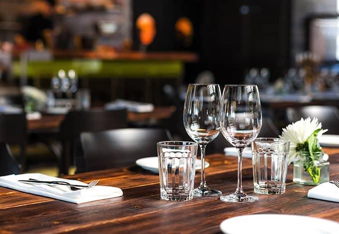 empty restaurant in amawalk
