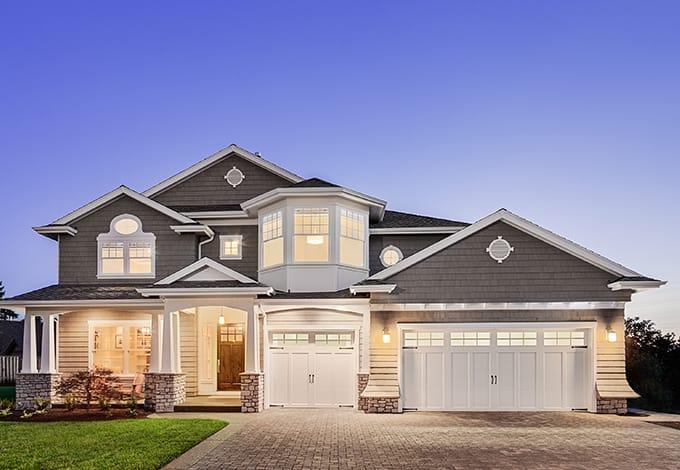 a westbury new york suburban home exterior