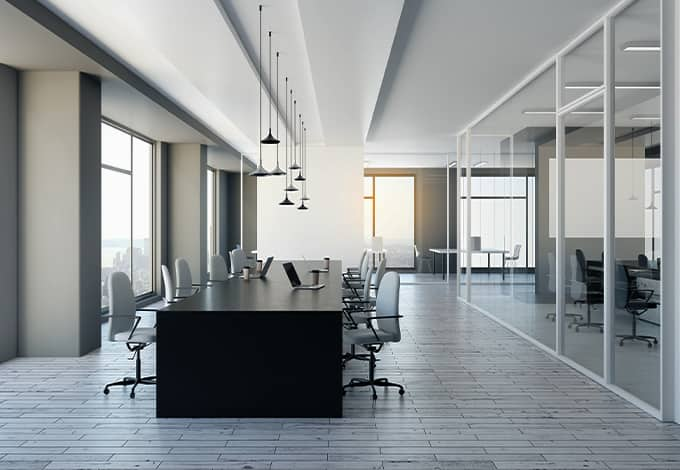a commercial office space in rye new york