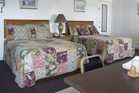 double beds at acadia national park