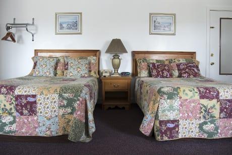 double beds near acadia national park