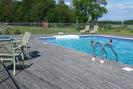 acadia motel with heated pool