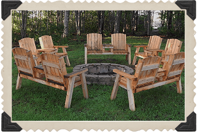 Chairs around a Firepit