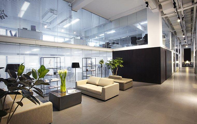 nice office building interior