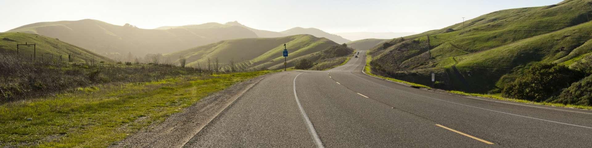 a country road in charleston south carolina