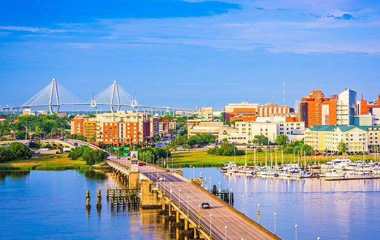 charleston south carolina on the horizon