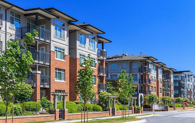 street view of condominiums