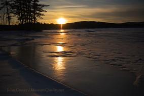 ice sunset wilton