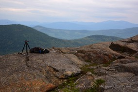 'Untitled' Landscape, Summer, Hiking, Tumbledown mountain, Maine, New England, Photography, Mountains, clouds, lakes, Museum Quality