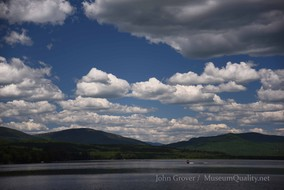 'Untitled' Landscape, Summer, New England, Photography, Mountains, clouds, lakes, Museum Quality