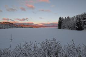 sunrise wilton fresh snow