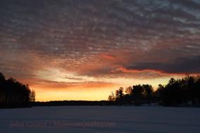sunrise orange sky wislson w/o atv's