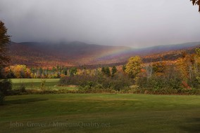 'Untitled' Landscape, Rainbows, Fall, Folliage, New England, Photography, Sunsets, mountains, clouds, Museum Quality