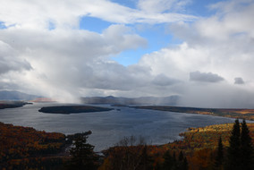 'Untitled' Landscape, Fall, Folliage, New England, Photography, Sunsets, mountains, clouds, lakes, Museum Quality