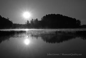 'Untitled' B&W Photography, Sunrise, Sunset, Landscape, Museum Quality, #MuseumQuality