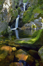 waterfall spring