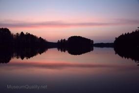 wilson lake sunrise 5
