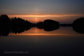 wilson lake sunrise 4