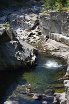 coos canyon kids swimming