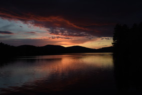 'Untitled' Landscape, Summer. New England, Photography, Sunsets, mountains, clouds, lakes, Museum Quality