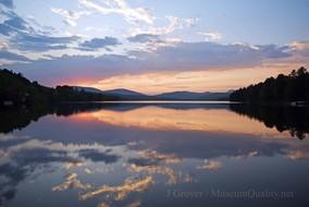 wilson lake sunset 2