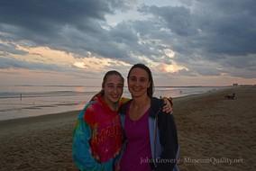 wendy & tal at beach