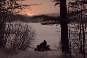 Winter, Photography, Sunset, Snow, Ice Fishing, ATV's, Quads