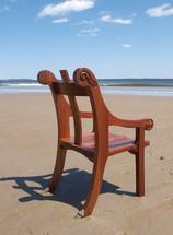 Chair at beech