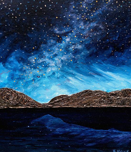 Eagle Lake, Milky Way