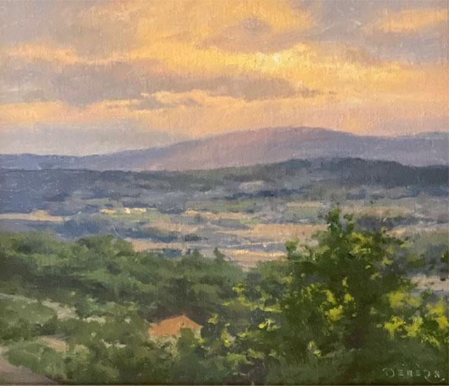 Dreaming of the French Countryside, Waning Moon, Luberon Valley, Provence