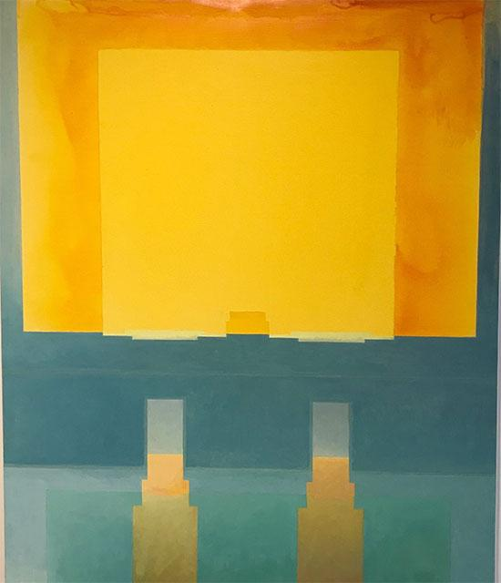abstract painting of daytime