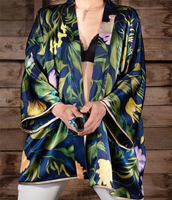 Menton Short Kimono