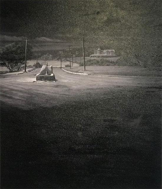 Seaside Inn (black & white)