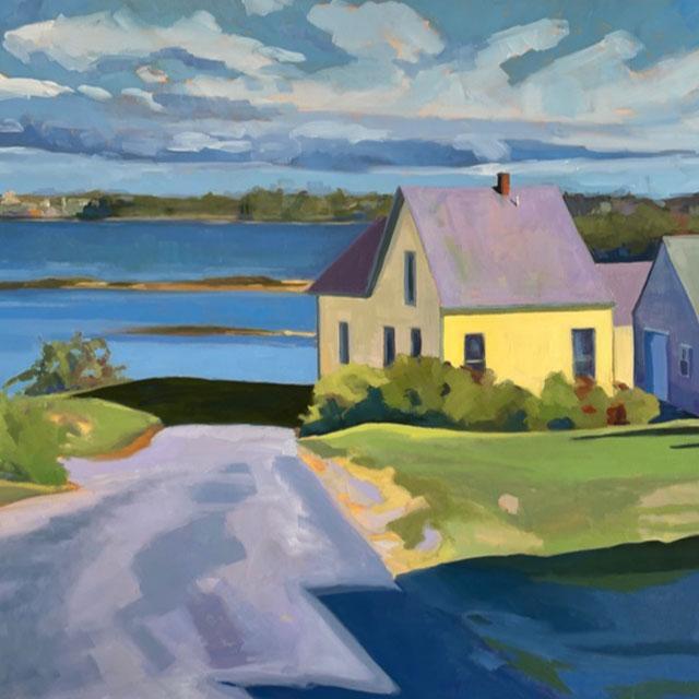 September, Bailey's Island