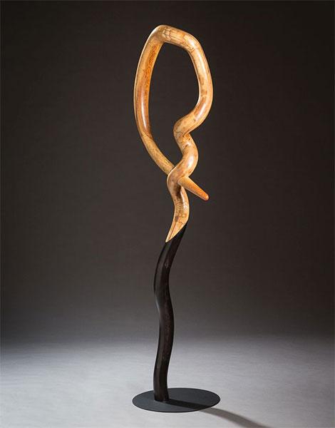 handmade wooden arch