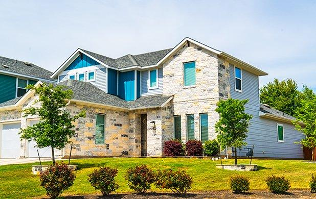 residential home in cypress texas